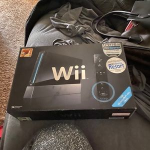 Used Wii in new condition
